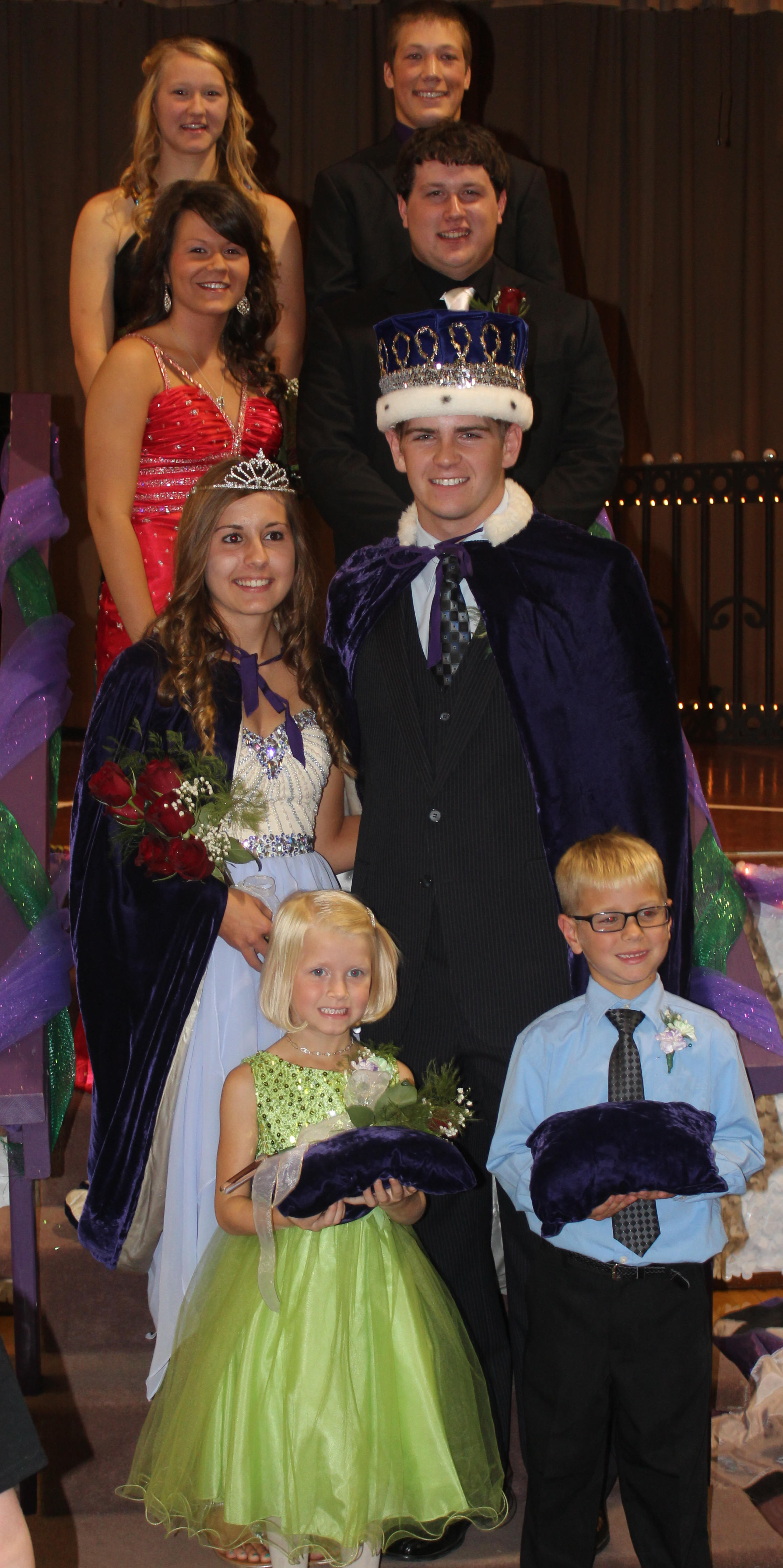 Homecoming Royalty 2014
